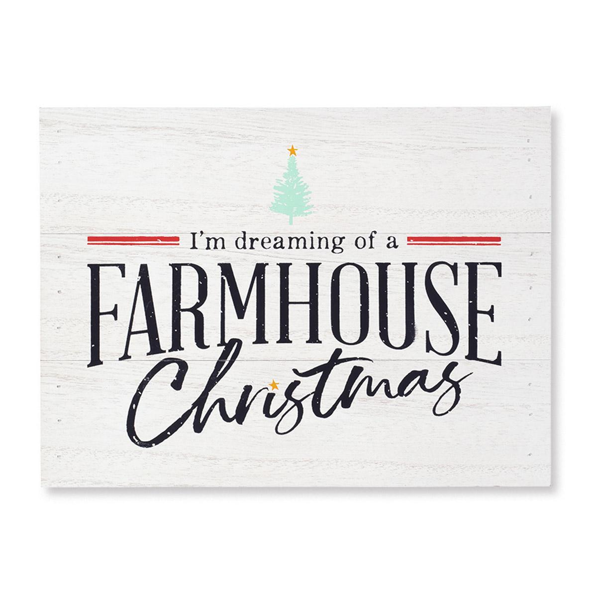 Farmhouse Christmas Chalk Couture