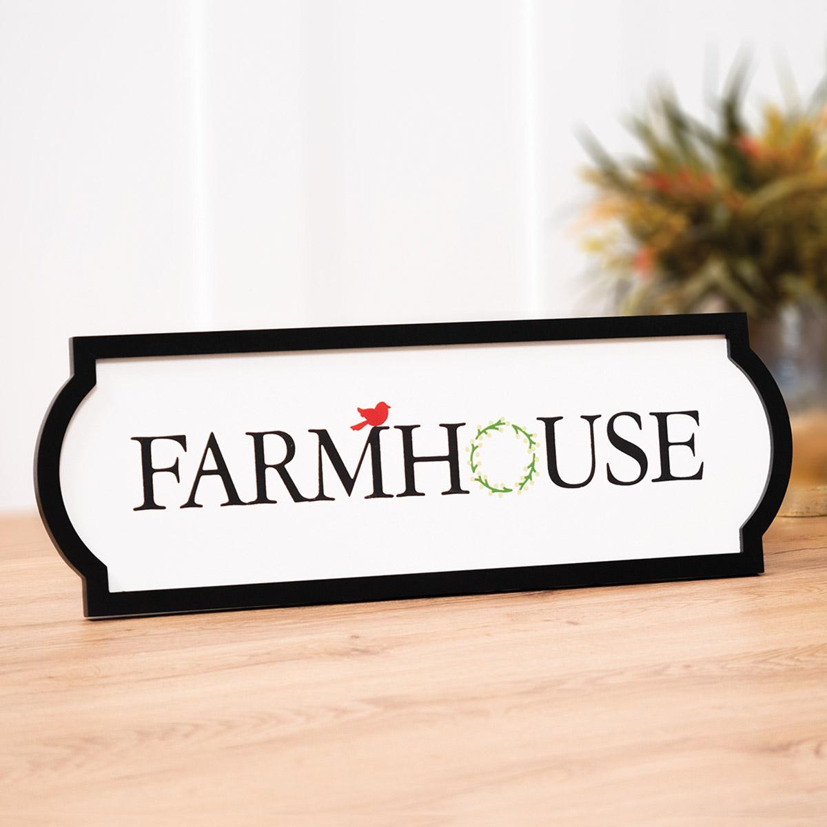 Chalk Box Farmhouse Wreath Chalk Couture