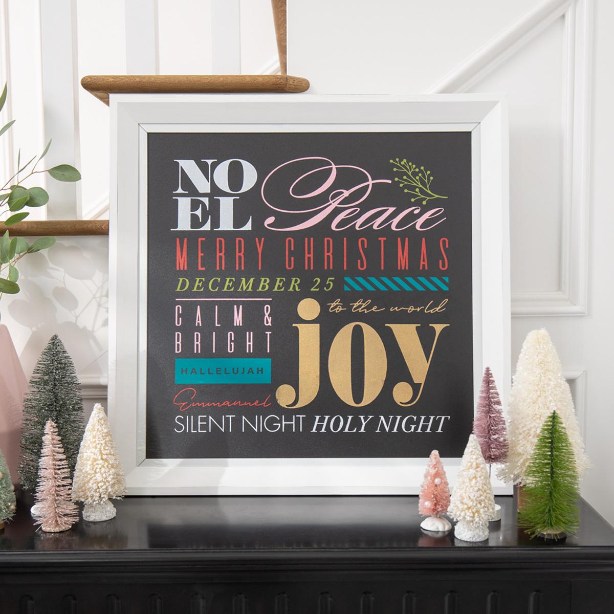 Christmas Sentiments Chalk Couture